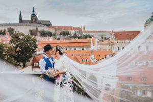 Focení svatby - Praha