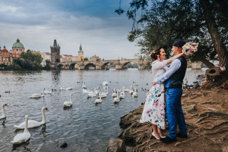 Svatební focení - Praha